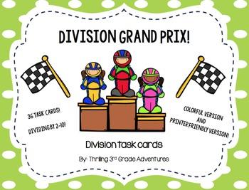 Division Grand Prix! Division Task Cards!