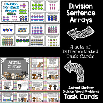 Division Guided Math Task Cards