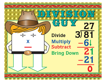 """Division Guy- 8½"""" x 11"""""""
