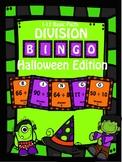 Division Halloween Bingo