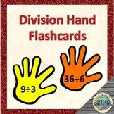 Division Hand 'flashcards' for Kinesthetic Learners