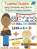 Division Hands-On Domino Math Games