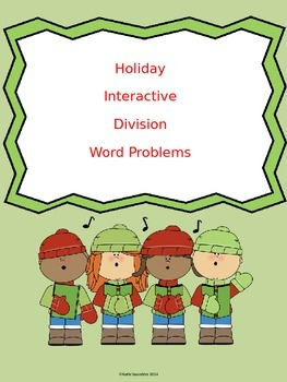 Division Holiday Word Problems