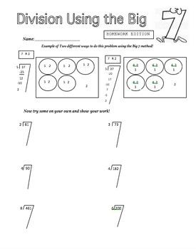Division Homework