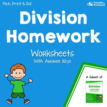 Division By Sharing Worksheets Teaching Resources | Teachers Pay ...