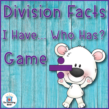 Division I Have... Who Has...? Game