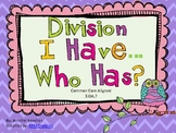 Division I have Who has-Common Core Aligned