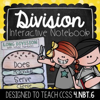 Division Interactive Notebook {4.NBT.6}