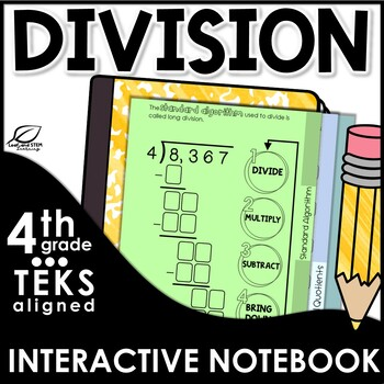 Division Interactive Notebook Set