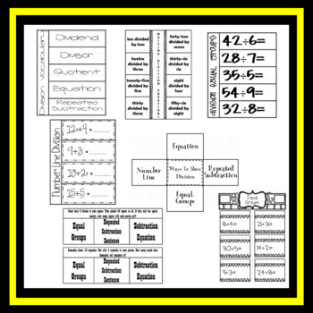 Division Interactive Notebook Unit