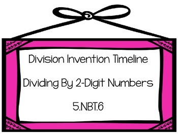 Division Invention Timeline