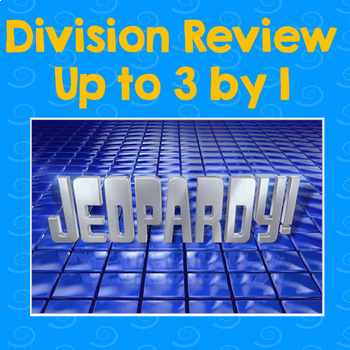 Division Jeopardy Review