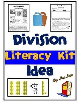 Division Literacy Kit Idea