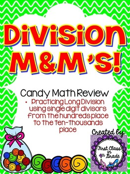 Division M&M's (Candy Math)