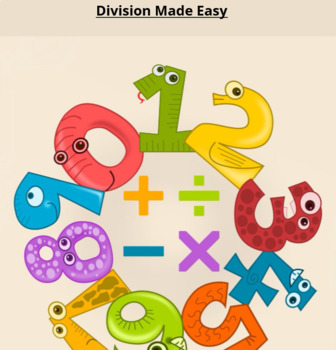 Division Made Easy Friendly Picture Book