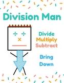Division Man Digital Anchor Chart
