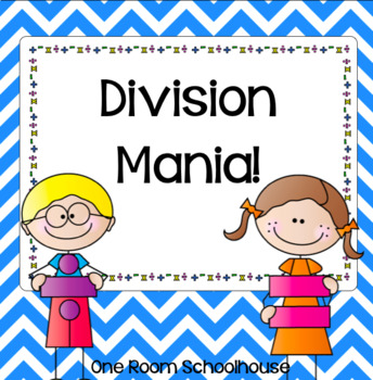 Division Mania Task Cards