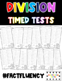 Division Master - Fact Fluency - Timed Tests - Rainbow/Bri