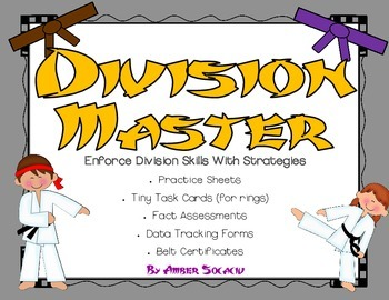 Division Masters for Common Core Operations and Algebraic Thinking
