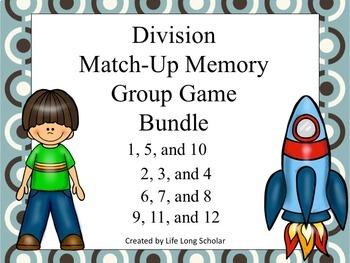Division Match Up Set Game BUNDLE!