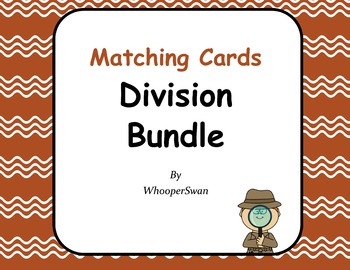 Division Matching Cards Bundle