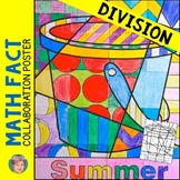 Summer Activities - Summer Math Division Review Collaborative Poster