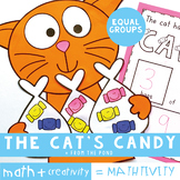Division Math Craft - The Cat's Candy