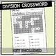 Long Division Crossword Activity Worksheet