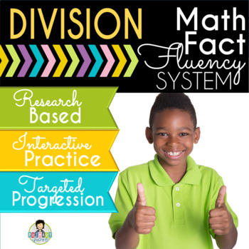 Division Math Fact Fluency System