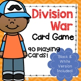 Division Math Fact War Game