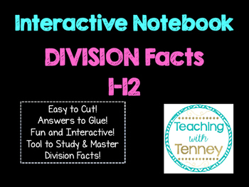 Division Math Facts Interactive Notebook