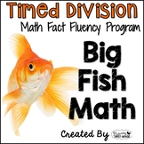 "Division Math Facts Timed Tests- ""Big Fish Math"""