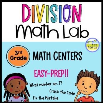 Division Math Centers {Leveled}