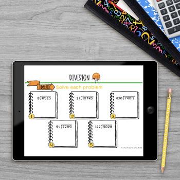 Division Math Lab Intervention