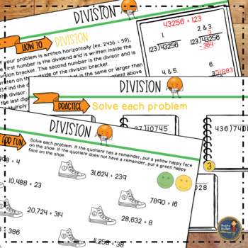 Division Math Lab Intervention Distance Learning Math