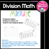 Division Math Minute
