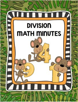 Division Worksheets 4th Grade Division Facts Practice & Division Fluency
