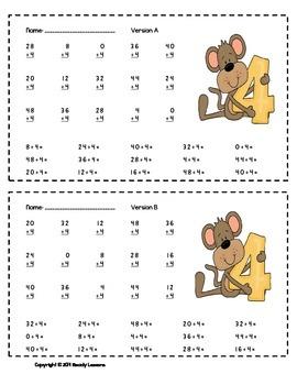 division worksheets 3rd grade division facts practice division fluency. Black Bedroom Furniture Sets. Home Design Ideas