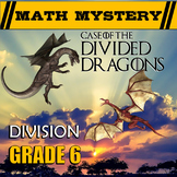 6th Grade Division Review {Dividing Whole Numbers, Decimals and Fractions)