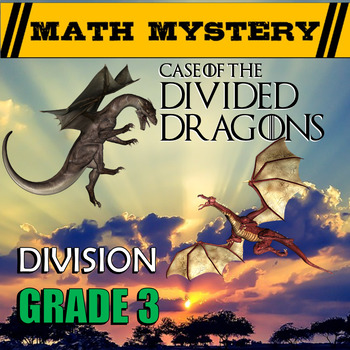 Division Math Mystery (GRADE 3) - Division Facts 1-12