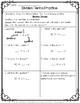 Division Math Practice: 10 Printables {4.NBT.6} NO PREP PACKET