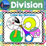 Division Math Practice Pi Day Color by Number