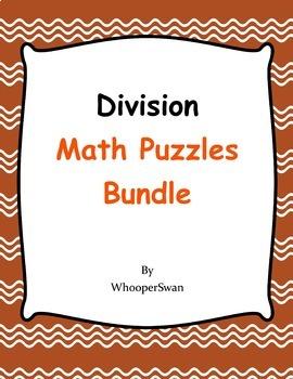 Division Puzzles Bundle