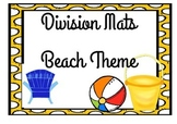 Division Mats Beach Theme