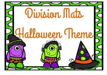 Division Mats Halloween Theme