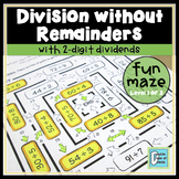 Division Worksheet No Remainders Level 1