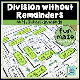 Division Maze No Remainders Level 2