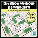 Division Maze No Remainders Level 3