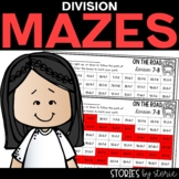 Division Mazes   Printable and Digital