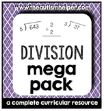 Division Mega Pack {a complete curricular resource}